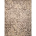"Nourison Silk Elements 5'6"" x 8' Mushroom Rectangle Rug - Item Number: SKE19 MSH 56X8"