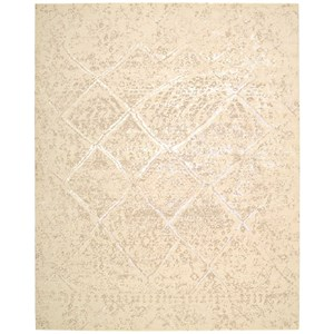 Nourison Silk Elements 12' x 15' Natural Rectangle Rug