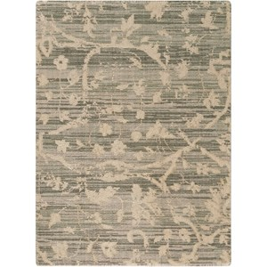 """Nourison Silk Elements 2'3"""" x 3' Taupe Rectangle Rug"""