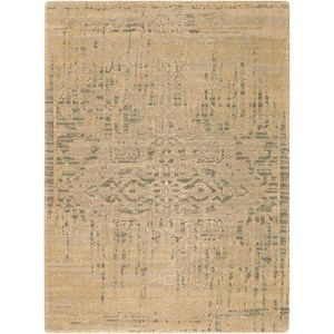 "Nourison Silk Elements 2'3"" x 3' Beige Rectangle Rug"