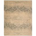 """Nourison Silk Elements 7'9"""" x 9'9"""" Beige Rectangle Rug - Item Number: SKE27 BGE 79X99"""