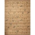 Nourison Silk Elements 12' x 15' Beige Rectangle Rug - Item Number: SKE28 BGE 12X15