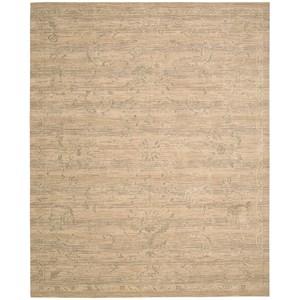 "Nourison Silk Elements 9'9"" x 13' Sand Rectangle Rug"