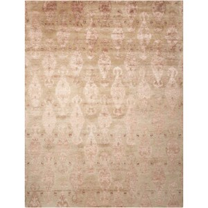 "Nourison Silk Shadows 5'6"" x 7'5"" Sand Rectangle Rug"