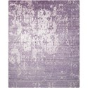 "Nourison Silk Shadows 8'6"" x 11'6"" Amethyst Rectangle Rug - Item Number: SHA10 AMETH 86X116"