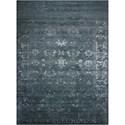 "Nourison Silk Shadows 8'6"" x 11'6"" Blue Stone Rectangle Rug - Item Number: SHA15 BLSTN 86X116"