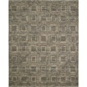"Nourison Silken Allure 5'6"" x 8' Smoke Area Rug - Item Number: 12666"
