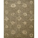 "Nourison Silken Allure 5'6"" x 8' Chocolate Area Rug - Item Number: 15288"