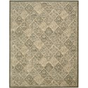 "Nourison Silken Allure 7'9"" x 9'9"" Multicolor Area Rug - Item Number: 15295"