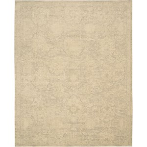 "Nourison Silken Allure 7'9"" x 9'9"" Sand Area Rug"