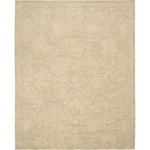 "Nourison Silken Allure 8'6"" x 11'6"" Sand Area Rug"