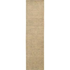 "Nourison Silken Allure 2'5"" x 10' Sand Area Rug"