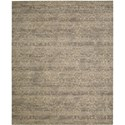 "Nourison Silken Allure 8'6"" x 11'6"" Latte Area Rug - Item Number: 17107"