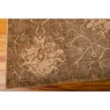Nourison Silken Allure 12' x 15' Chocolate Area Rug