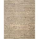 "Nourison Silken Allure 7'9"" x 9'9"" Beige Area Rug - Item Number: 18263"
