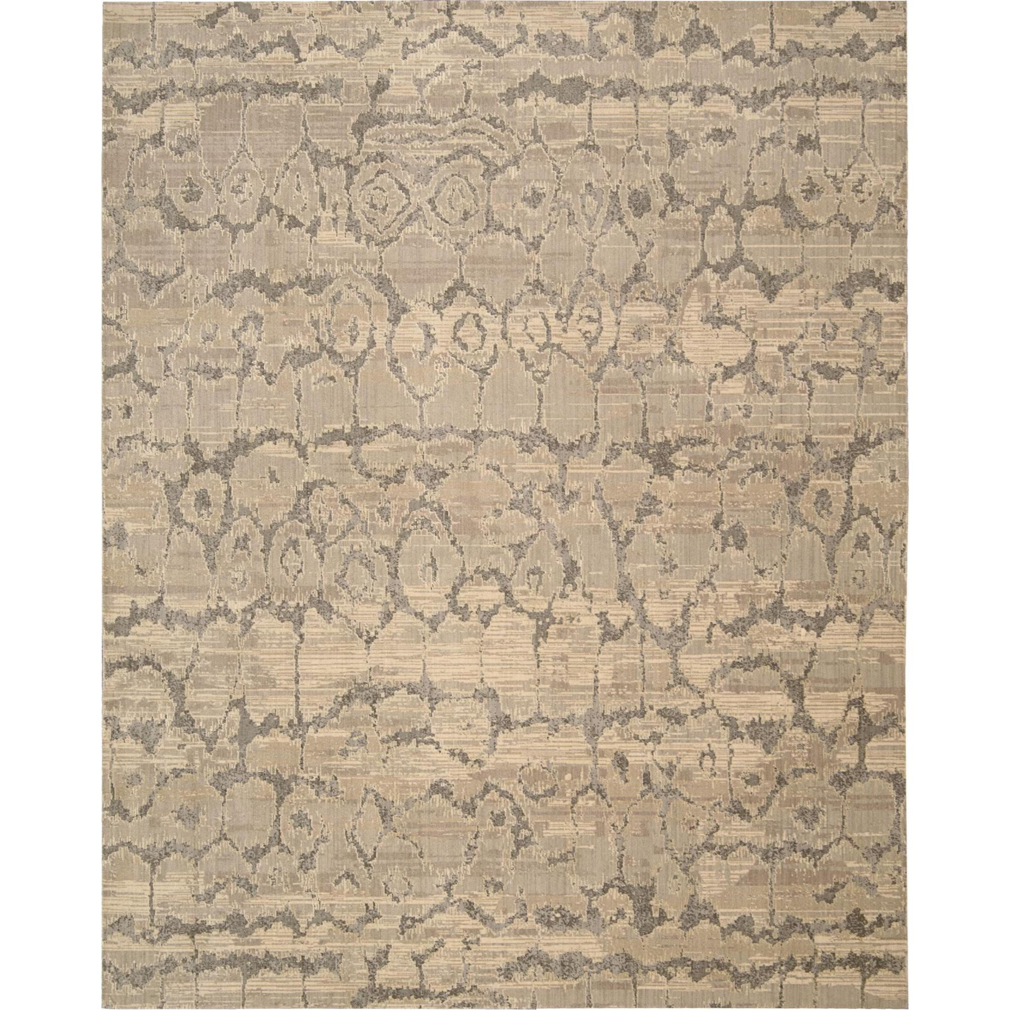 Nourison Silken Allure 12' x 15' Beige Area Rug - Item Number: 18270