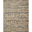 "Nourison Silken Allure 5'6"" x 8' Teal Area Rug - Item Number: 18274"