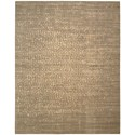 "Nourison Silken Allure 7'9"" x 9'9"" Mushroom Rectangle Rug - Item Number: SLK06 MSH 79X99"