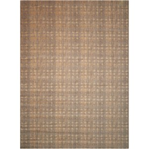 "Nourison Silken Allure 5'6"" x 8' Grey Rectangle Rug"