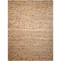 Nourison Silken Allure 12' x 15' Beige Rectangle Rug - Item Number: SLK10 BGE 12X15