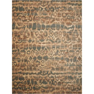 Nourison Silken Allure 12' x 15' Teal Rectangle Rug