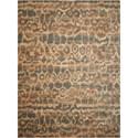 Nourison Silken Allure 12' x 15' Teal Rectangle Rug - Item Number: SLK10 TL 12X15