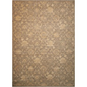 "Nourison Silken Allure 9'9"" x 13'9"" Moss Rectangle Rug"
