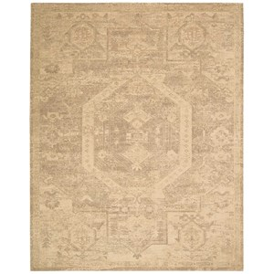 "Nourison Silken Allure 7'9"" x 9'9"" Sand Rectangle Rug"
