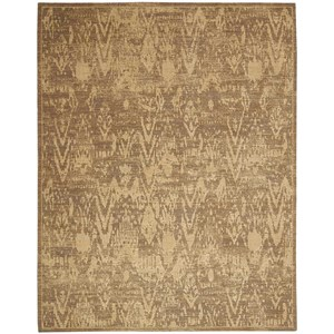 "Nourison Silken Allure 5'6"" x 8' Slate Rectangle Rug"