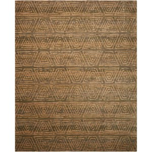"Nourison Silken Allure 9'9"" x 13' Ash Rectangle Rug"