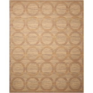 "Nourison Silken Allure 9'9"" x 13' Sand Rectangle Rug"