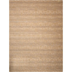 "Nourison Silken Allure 8'6"" x 11'6"" Sand Rectangle Rug"