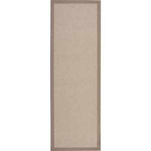 "Nourison Sisal Soft 2'6"" x 8' Hazelnut Area Rug"