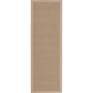 "Nourison Sisal Soft 2'6"" x 8' Sand Area Rug"