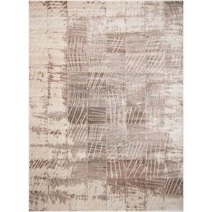 "Nourison Soho 3'9"" x 5'9"" Mocha Rectangle Rug"