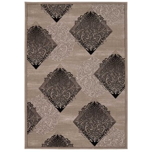 "Nourison Soho 7'10"" x 10'6"" Ash Rectangle Rug"