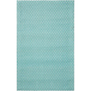 5' x 7' Aqua Rectangle Rug