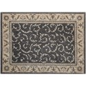 "Nourison Somerset 2' x 2'9"" Charcoal Rectangle Rug - Item Number: ST02 CHARC 2X29"