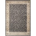 """Nourison Somerset 7'9"""" x 10'10"""" Charcoal Rectangle Rug - Item Number: ST02 CHARC 79X1010"""