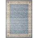 """Nourison Somerset 7'9"""" x 10'10"""" Light Blue Rectangle Rug - Item Number: ST02 LTBLU 79X1010"""