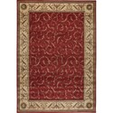 """Nourison Somerset 3'6"""" x 5'6"""" Red Rectangle Rug - Item Number: ST02 RED 36X56"""