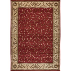 "Nourison Somerset 7'9"" x 10'10"" Red Rectangle Rug"