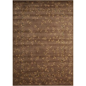 "Nourison Somerset 2' x 2'9"" Khaki Rectangle Rug"