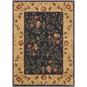 "Nourison Somerset 2' x 2'9"" Navy Rectangle Rug - Item Number: ST05 NAV 2X29"
