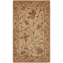 "Nourison Somerset 2' x 2'9"" Ivory Rectangle Rug - Item Number: ST09 IV 2X29"