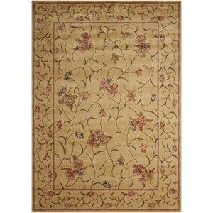 "3'6"" x 5'6"" Ivory Rectangle Rug"
