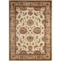 "Nourison Somerset 2' x 2'9"" Ivory Rectangle Rug - Item Number: ST60 IV 2X29"