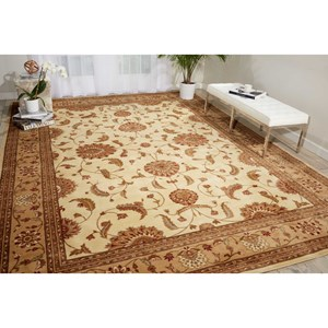 "Nourison Somerset 5'3"" x 7'5"" Ivory Rectangle Rug"