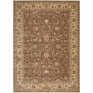 "Nourison Somerset 3'6"" x 5'6"" Taupe Rectangle Rug"