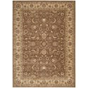 "Nourison Somerset 3'6"" x 5'6"" Taupe Rectangle Rug - Item Number: ST62 TAU 36X56"